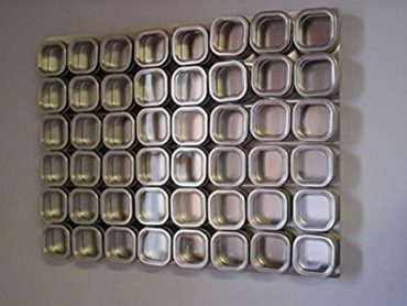 Culinarian magnetic spice wall