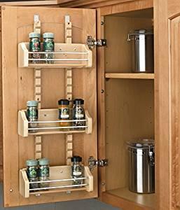 Rev a Shelf cabinet door spice rack